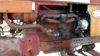 International Harvester Co IHC Farmall 560 Tractor -2nd Video - WATCH - E-Bay