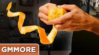 Spiral Orange Peeling Challenge