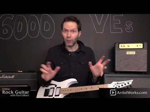 Paul Gilbert Rock Guitar Lessons Announcement!