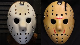 How to Make a Friday The 13th Part 8 Jason Mask - DIY Painting Tutorial