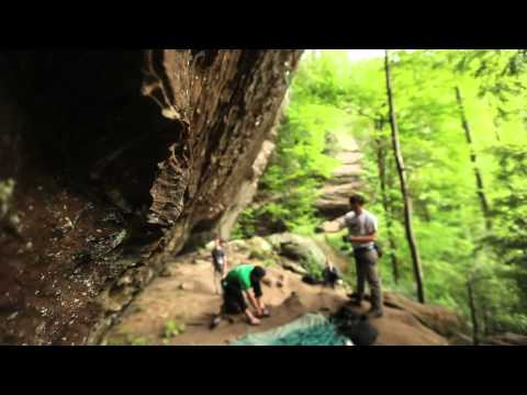 Red River Gorge Climbing, The Zoo