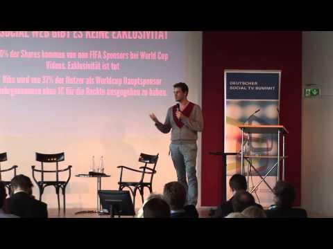 "Vortrag: Bertram Gugel über ""Fazit und Ausblick Social TV"""