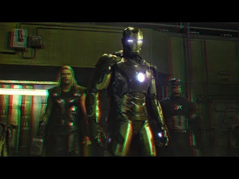 Avengers : Age of Ultron - Clip (2015)(3D)(Side By Side) Avengers vs Ultron