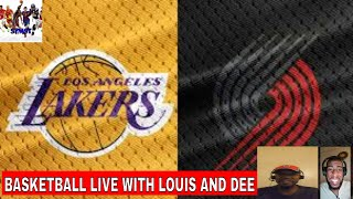 Lakers vs Blazers Live Commentary