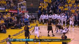 Best Plays From 1st Half of NBA Finals Game 2