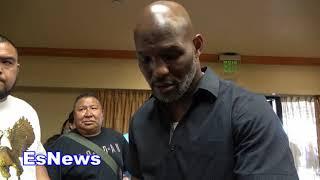 Bernard Hopkins Breaks Down Manny Pacquiao vs Lucas Matthysse EsNews Boxing
