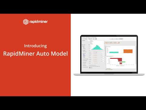 RapidMiner Auto Model accelerates everything data scientists do when building machine learning models.