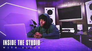 6LACK Gives A Tour Of His Studio & Explains What His Name Represents   Inside The Studio