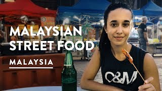 STREET FOOD HEAVEN!! Night Market Jalan Alor in Kuala Lumpur | Malaysia Vlog 084, 2017