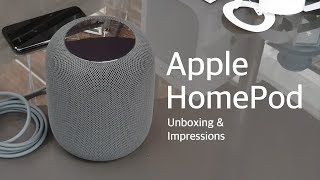 Apple HomePod Unboxing, First Impression & Sound Quality Review, That Bass!