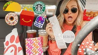 Letting The Person in Front of Me DECIDE What I Eat for 24 HOURS!〡Megan O'Rourke