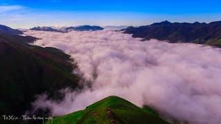 Thiên Đường Mây Tà Xùa -  Sơn La Flycam