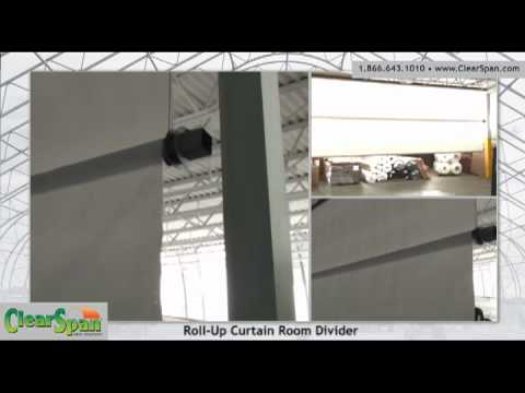 Roll Up Curtain Room Divider Youtube