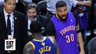 Drake trolls the Warriors in epic fashion in Game 1 | Get Up!
