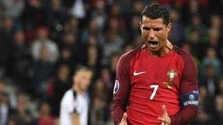 Màn trình diễn xuất sắc của Cristiano Ronaldo trong màu áo Bồ Đào Nha năm 2017