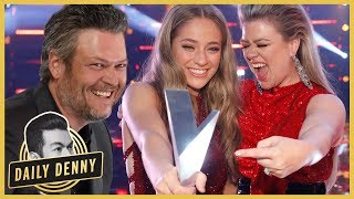 Team Kelly Clarkson Beats Blake Shelton on 'The Voice'! All the Times They Took Jabs at Each Other