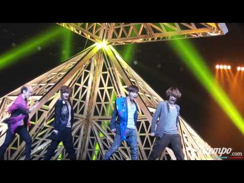 [fancam] 110322 SHINee - Sherlock + Taemin felt on Key @ Inki