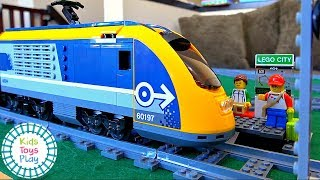 Lego City 60197 Speed Build   Lego City Passenger Train 60197   Fast Build Lego Train