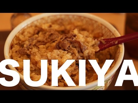 Sukiya and our Love of Gyudon