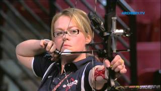 Linda Ochoa v Christie Colin – compound women's bronze final | Las Vegas 2012 Indoor Worlds