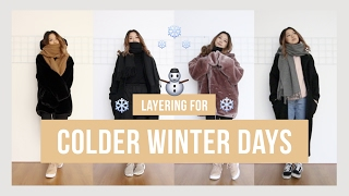 Layering For Colder Winter Days ❄ (pt. 2) | Clothesnbits
