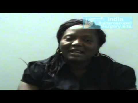 Mrs. Ezeani from Nigeria Underwent Laparoscopic Gall Bladder Surgery in India