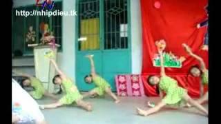 Http://nhipdieu.tk - biểu diễn năng khiếu aerobic mẫu giáo - ước mơ thần tiên