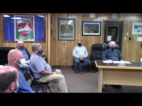 Peru Town Board Meeting  9-27-21