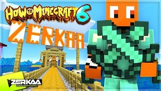 🔴 CAN WE GET FULL DIAMOND ARMOUR TODAY?! (How To Minecraft 6 LIVE)