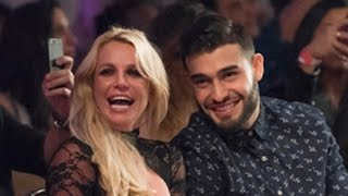 Britney Spears Cozies Up to Boyfriend Sam Asghari During Night Out at L.A. Fashion Week -- See th…