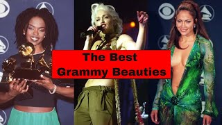 The 25 Best Grammys Beauty Looks of All Time - YouTube