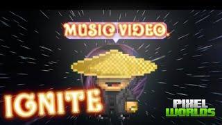 Alan Walker - Ignite Feat. Julie Bergan & Seungri [Pixel worlds Music video]