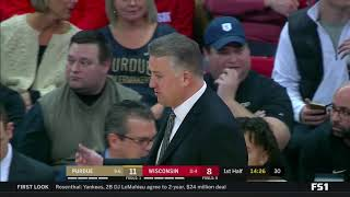 Purdue vs Wisconsin   NCAA Basketball 2019   11/01/2019