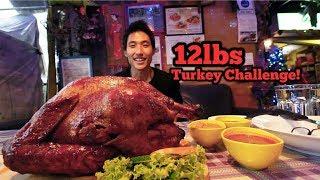 12lbs Salted Egg Turkey Challenge!