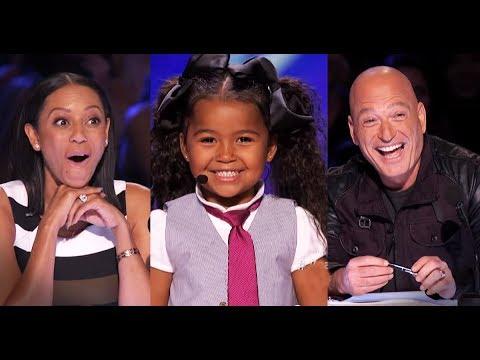 [Eng-Vietsub] Heavenly Joy 5 tuổi làm tan chảy hoàn toàn trái tim nước Mỹ: America's Got Talent