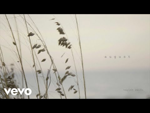 Taylor Swift – august (Official Lyric Video)