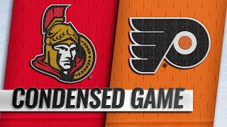 11/27/18 Condensed Game: Senators @ Flyers