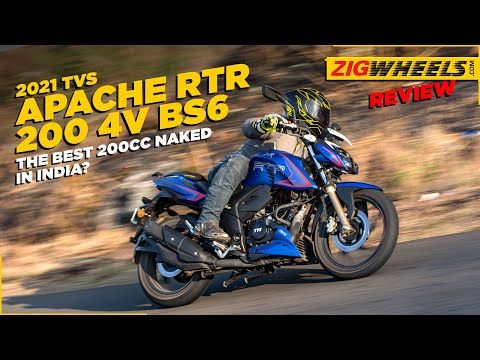 2021 TVS Apache RTR 200 4V BS6 Ride Modes | The Best 200cc Naked In The Country?