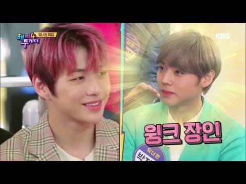 해피투게더4 Happy together Season 4 - 박지훈! 윙깅이 탄생 비하인드(feat.이대휘 굴욕).20181115