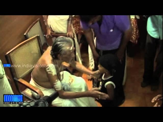 Children visits Sabarimala Ayyappa Temple