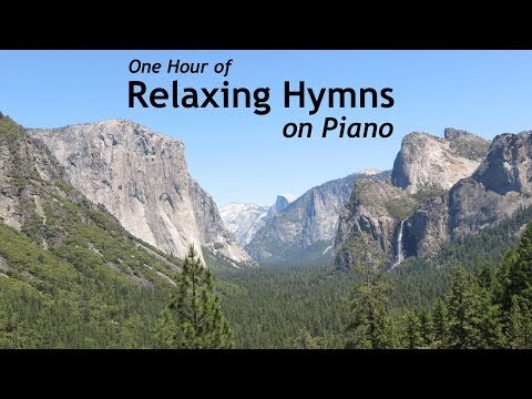 One Hour of Relaxing Hymns on Piano