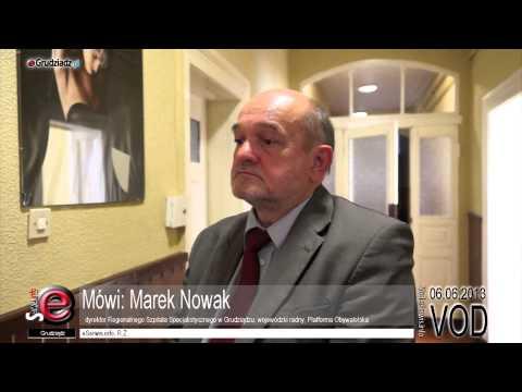 Marek Nowak - sytuacja finansowa Szpitala w Grudziądzu