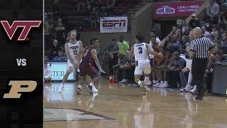 Virginia Tech vs. Purdue Basketball Highlights (2018-19)