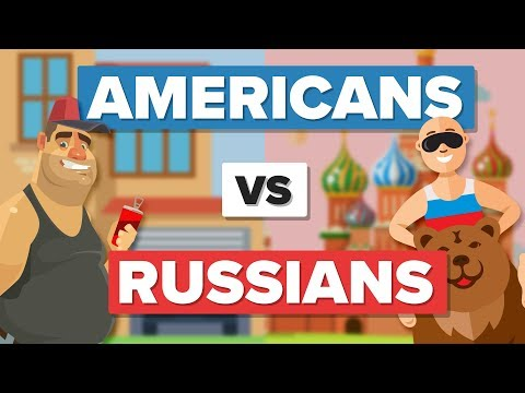 Average American VS Average Russian - People Comparison