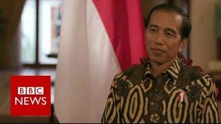 Indonesia's President Joko Widodo Interview - BBC News