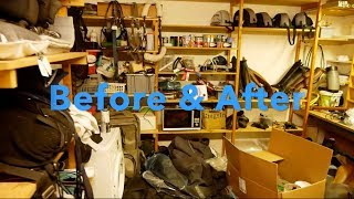2 BOYS TRY AND GIVE THEIR TACK ROOM A MAKEOVER