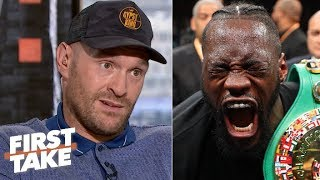Tyson Fury guarantees a Deontay Wilder knockout in a potential rematch | First Take