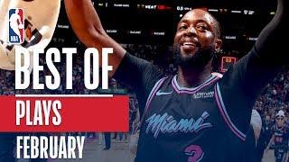 NBA's Best Plays   February 2018-19 NBA Season