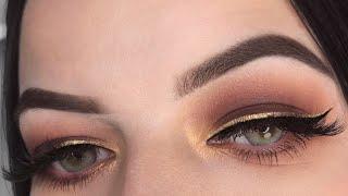 GOLDEN ROSE | Anastasia Beverly Hills Soft Glam Palette Makeup Tutorial