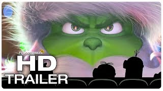 THE GRINCH Minions Watch Grinch Trailer (NEW 2018) Benedict Cumberbatch Animated Movie HD